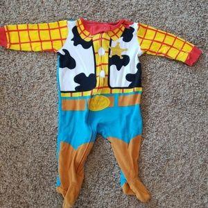 Disney's Sheriff Woody one piece. 6-9 months